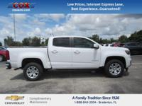 New Price! This 2017 Chevrolet Colorado LT in is well