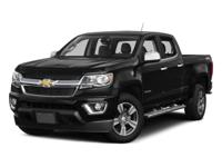 2017 Chevrolet Colorado LT 4WD.  Options:  4-Wheel Disc