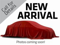 New Arrival! CarFax 1-Owner, LOW MILES, This 2017