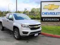 Options:  2017 Chevrolet Colorado Work Truck|Silver 7