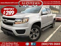 This Lovely Silver 2015 Chevy Colorado 4WD Truck Comes
