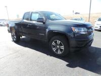 This is the new 2017 Chevrolet Colorado 4WD Work Truck