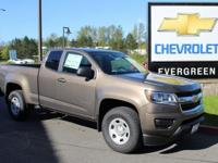 Options:  2017 Chevrolet Colorado Work Truck|Brown|