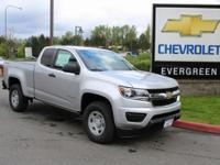 Options:  2017 Chevrolet Colorado Work Truck|Silver|