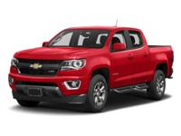 2017 Chevrolet Colorado Z71 4WD.  Options:  4-Wheel