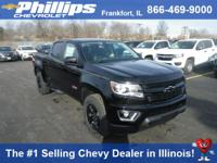 Options:  2017 Chevrolet Colorado Z71|Black|Jet Black