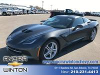 This new Chevrolet Corvette Stingray is now for sale in
