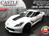 This Chevrolet Corvette has a strong Gas V8 6.2L/376