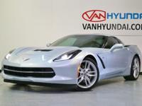 CARFAX ONE OWNER! And CLEAN CARFAX!. Corvette Stingray