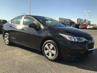 This 2017 Chevrolet CRUZE 4dr 4dr Sedan Automatic LS