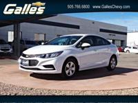 Look at this 2017 Chevrolet Cruze LS. Its Automatic