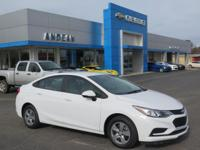 Options:  2017 Chevrolet Cruze Ls|White|4