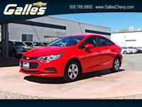 Check out this 2017 Chevrolet Cruze LS. Its Automatic