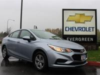 Options:  2017 Chevrolet Cruze Ls|Blue| Price Includes: