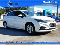 New Price! This 2017 Chevrolet Cruze LT in Summit White