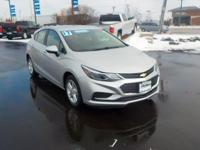 Silver Ice Metallic 2017 Chevrolet Cruze LT FWD 6-Speed