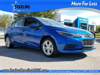 2017 Chevrolet Cruze LT, CERTIFIED, ONE OWNER, CLEAN