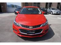 Options:  2017 Chevrolet Cruze Lt Auto|Lt Auto 4Dr