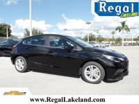 2017 Chevrolet Cruze LT FWD 6-Speed Automatic 1.4L