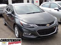 2017+Chevrolet+Cruze+LT+In+Gray+Metallic.+Turbo%21+Best