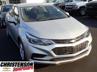 2017+Chevrolet+Cruze+LT+In+Silver+Ice+Metallic.+Turbo%2
