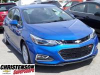 2017+Chevrolet+Cruze+Hatchback+LT+Auto+in+Kinetic+Blue+