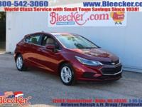 Scores 38 Highway MPG and 29 City MPG! This Chevrolet