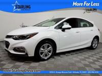 Cruze LT, GM Certified, 4D Hatchback, 6-Speed