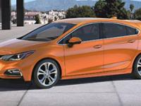 Look at this 2017 Chevrolet Cruze LT. Its Automatic
