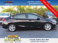 New Price! Certified. This 2017 Chevrolet Cruze LT in
