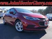 Options:  2017 Chevrolet Cruze Lt|Red|Priced Below Kbb