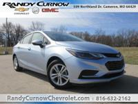 Options:  2017 Chevrolet Cruze Lt|Arctic Blue|Jet