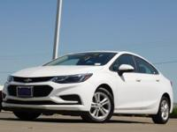 2017 Chevrolet Cruze Summit White 6-Speed Automatic