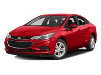 This 2017 Chevrolet CRUZE 4dr 4dr Sedan Automatic LT