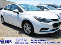 Recent Arrival! Summit White Chevrolet Cruze **ANOTHER