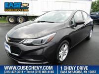Come see this 2017 Chevrolet Cruze LT. Its Automatic