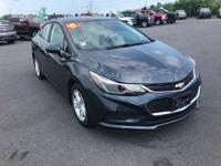 Gray 2017 Chevrolet Cruze LT FWD 6-Speed Automatic 1.4L