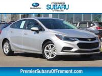 Options:  2017 Chevrolet Cruze Lt 4D Sedan|Preferred