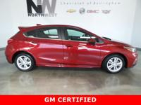 GM CERTIFIED, ONLY 9,130 MILES, RS PACKAGE, 6-SPEED