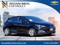 Black 2017 Chevrolet Cruze LT FWD 6-Speed Automatic