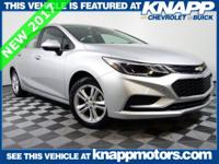 Why buy used when you can get this NEW 2017 Cruze for
