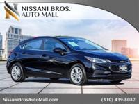 New Price! Black 2017 Chevrolet Cruze LT FWD 6-Speed