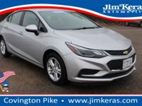 This Certified Pre-Owned 2017 Chevrolet Cruze LT