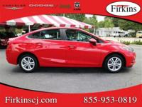New Price! CARFAX One-Owner. Clean CARFAX. Red 2017