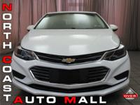2017 Chevrolet Cruze LT with 1SD 1.4 liter l4 turbo