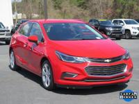 Red Hot 2017 Chevrolet Cruze Premier FWD 6-Speed