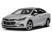 Recent Arrival! New Price! This 2017 Chevrolet Cruze