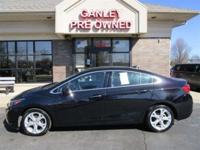 CARFAX One-Owner. 2017 Chevrolet Cruze Premier