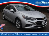 This Certified Pre-Owned 2017 Chevrolet Cruze Premier