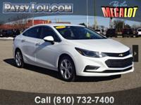 2017 Cruze Premier !!! Clean CARFAX One Owner AVAILABLE